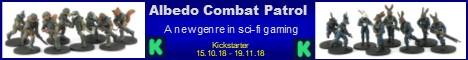 Albedo Combat Patrol - 28mm Sci-Fi Game - now on Kickstarter