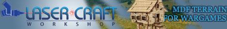 Laser Craft Workshop - MDF Terrain for Wargames