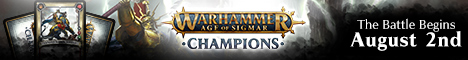 Warhammer: Age of Sigmar - Chamipons - The battle begins August 2nd