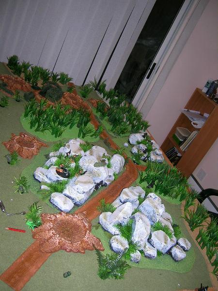 40K_Atelier décors en vue d'une nouvelle table Jungle D82a8b6f831932e47a4fe2fe069fe7e6_4431