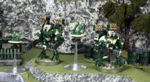Green army Broadsides