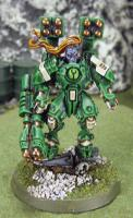 Green army commander