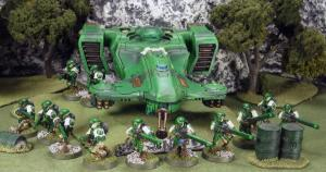 Green army Firewarriors