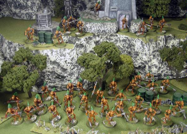 All of the armies' Kroot ready to give their lives for the greater good