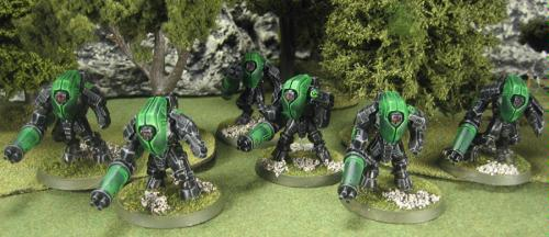 Stealth Suits from the Green army