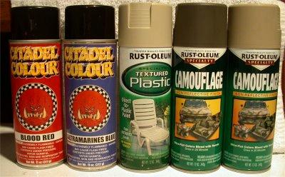 a couple of things to consider when youre looking at various spray primers some of these considerations are going to require that you actually buy a can - Camo Paint Colors