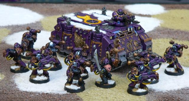 Image:Redbeards Emperor's Children Army Yellow Squad ...