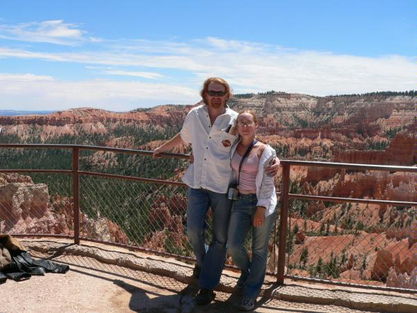 My wife and I at Bryce Canyon, 2006
