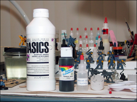Acrylic Craft Paint Thinner For Airbrush