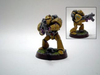 Yellow RT Marine by BloodofOrks