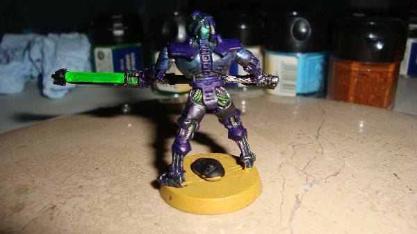 Oily Necron Paint Scheme