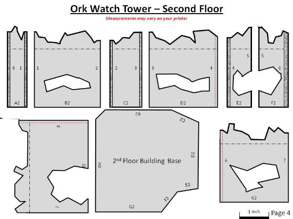 Scratch Building Ork Watch Tower New And Improved Just Today Forum Dakkadakka Roll The Dice To See If I M Getting Drunk