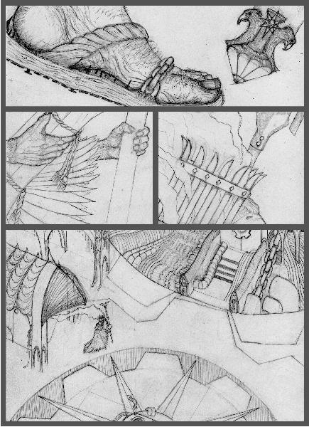 [Thumb - page panel 4 artwork line work pencil bw .jpg]