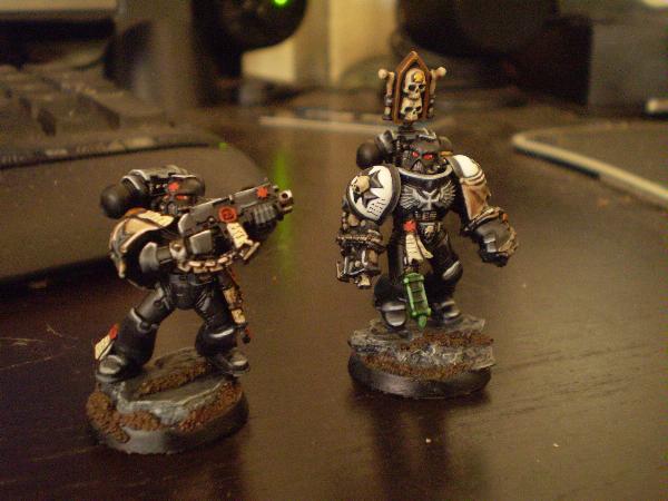 Painting White Tabards Templars