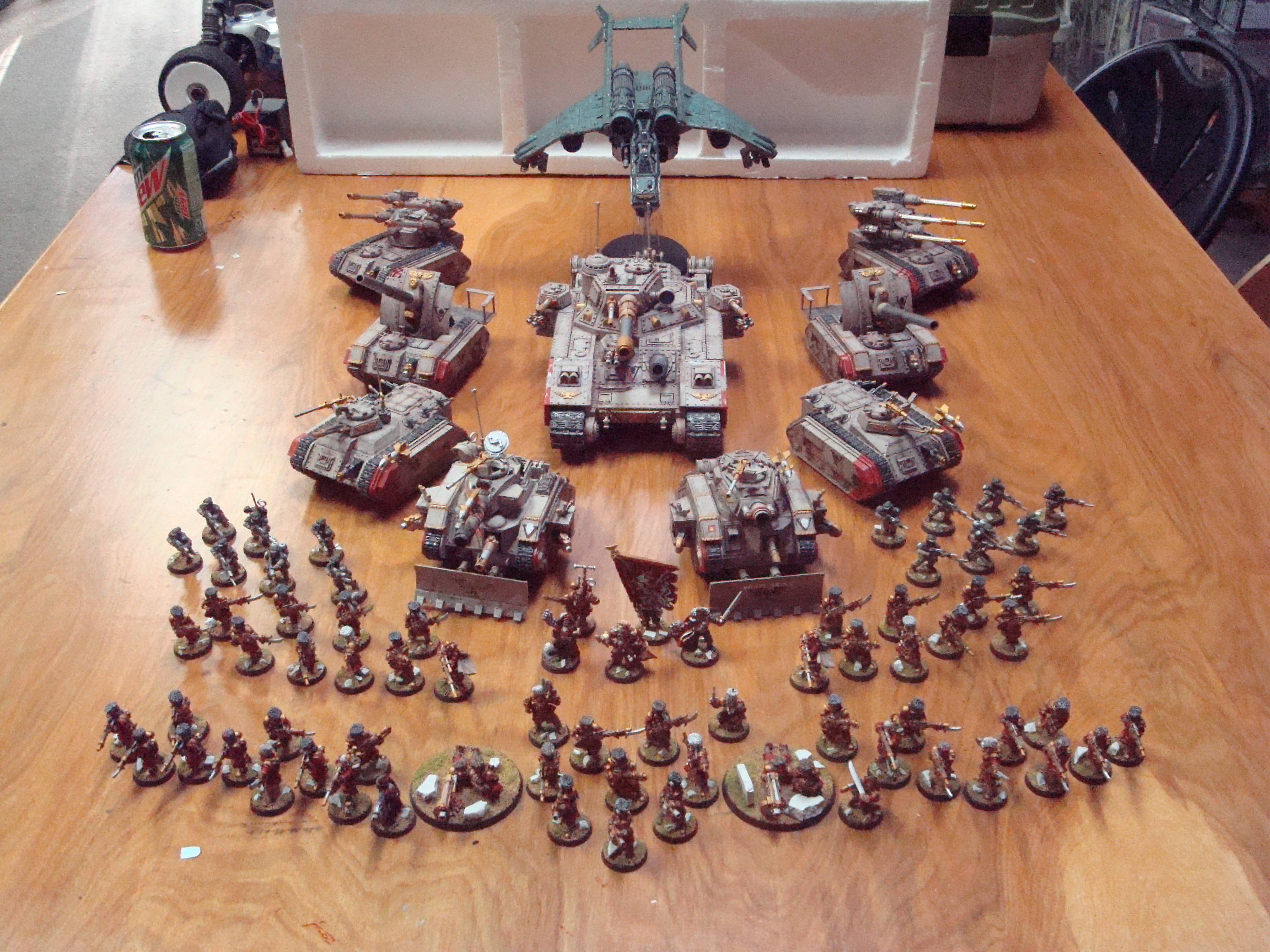 hobby stuff with Image Imperial Guard Vostroyan Army on Best Portable Solar Battery Pack also Tinpo further 550647 likewise Image Redbeards Slaanesh Daemon Army Daemo tes2 likewise Special Zentai Update.