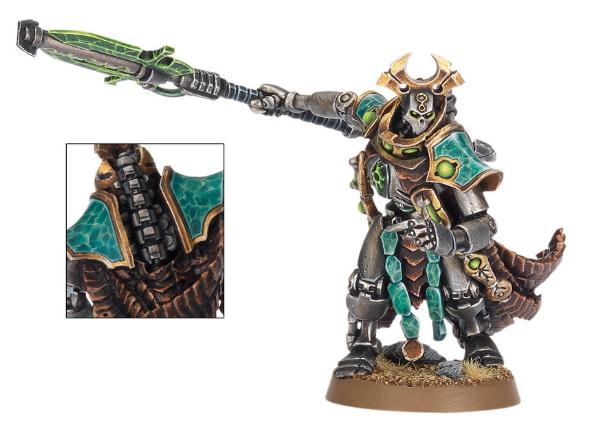 How To Paint The Effect On The New Necron Overlord S