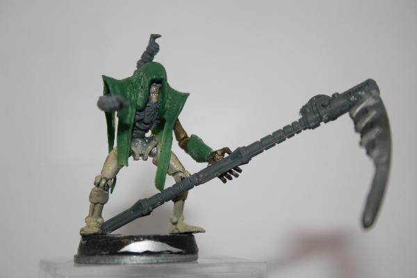 Kitbashing Necron Overlord