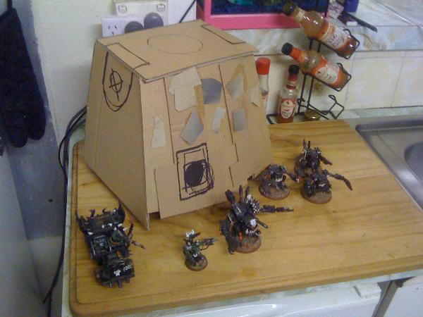 Ork Gargant Scratch Build - WIP PICS (updated 18.04 ...