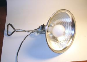 <center>example of a cheap industrial 150 watt work light</center>