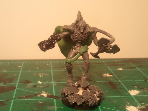 Necron Overlord, Cryptek Conversions/Kitbash (pic Heavy