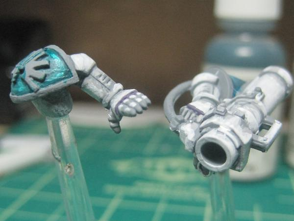[Thumb - Test Model - Gray Base - Step 8 - Arms - Hormagaunt Purple.JPG]