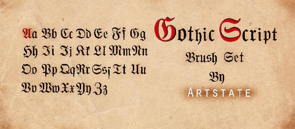 What Does The Gothic Script Look Like
