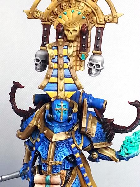 [Thumb - Tzeentch Lord. (Lorgar conversion) (6).jpg]
