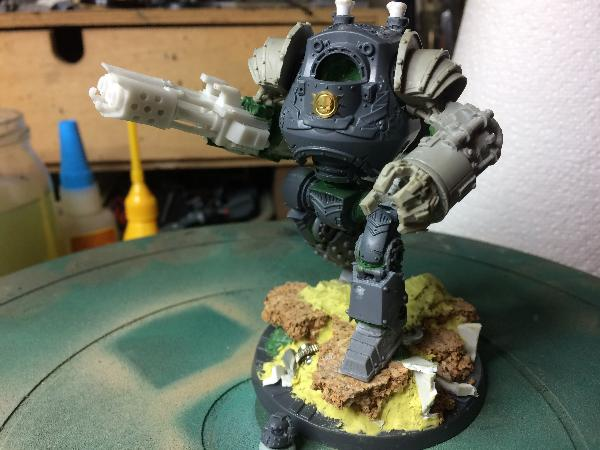 Paint Rusted Green Nurgle Armour