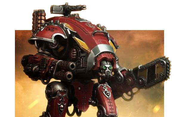Resultado de imagen de armiger warhammer