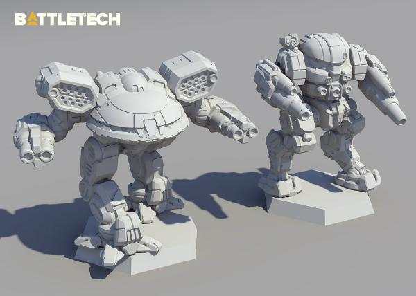 Battletech Catalyst Kickstarter Salvage Box Clan Invasion GRENDEL//Mongrel