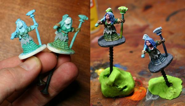 Reaper Dwarf Forge Priestess