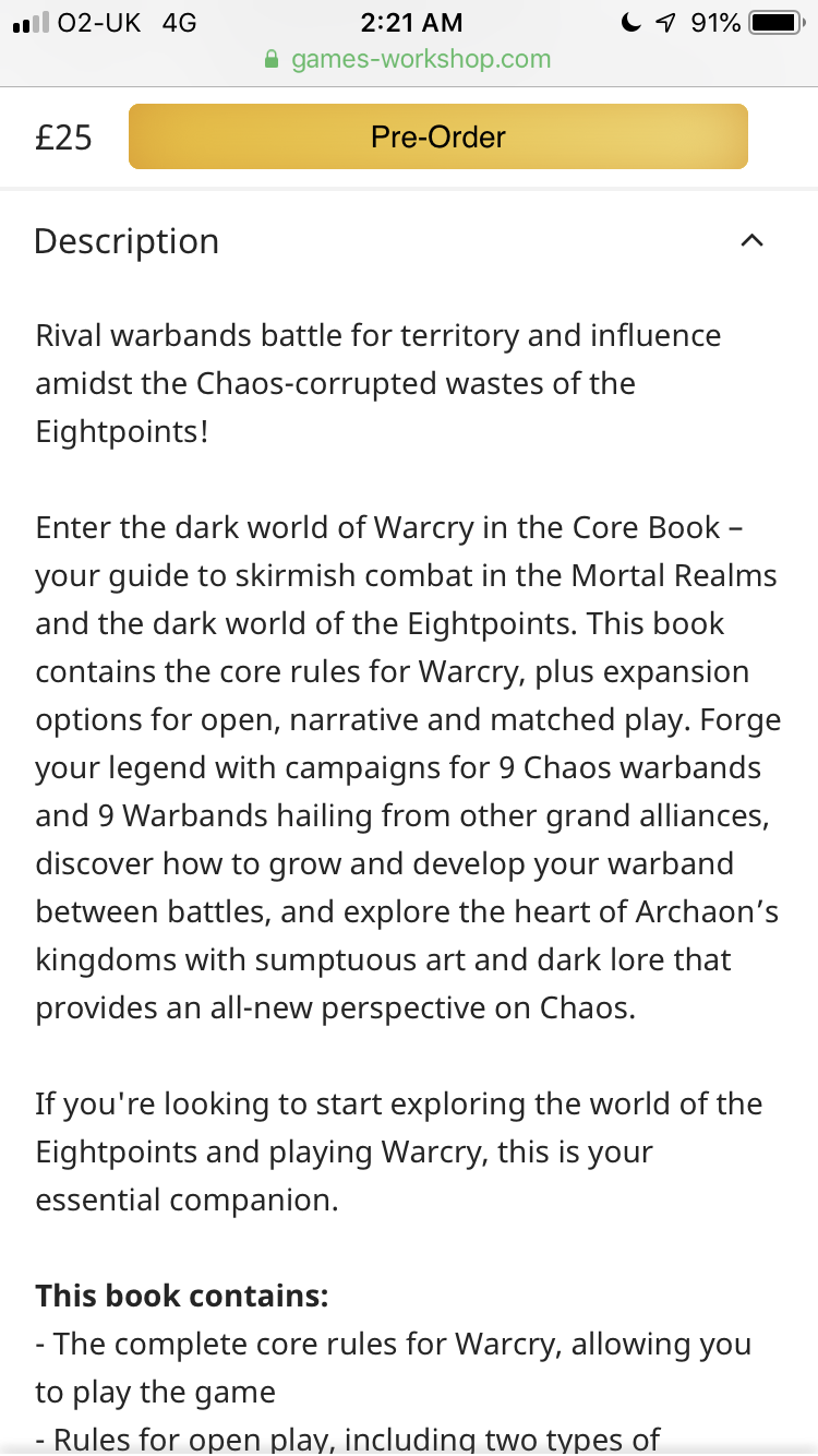 Warhammer AoS Warcry News & Rumours- Monsters and