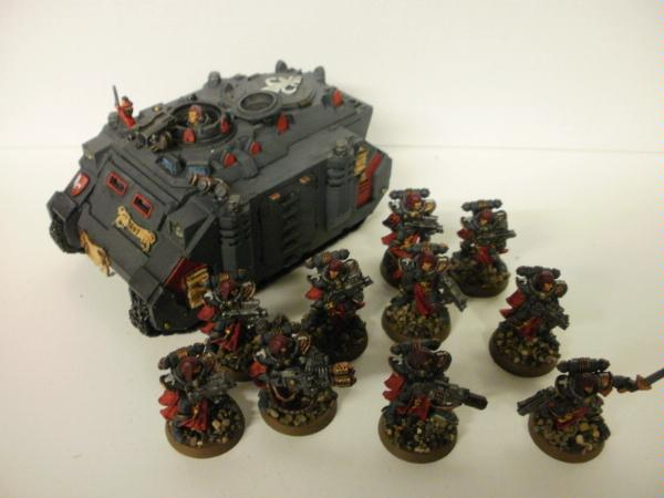 Sisters Of Battle. 7 Sisters with Bolters,