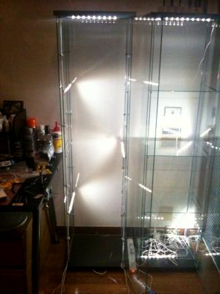 Customizing A Glass Display Case By Aessedai Articles