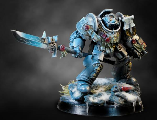 zenithal airbrushing osl and snow and ice tutorial