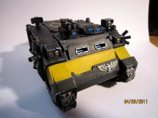 Alternative Heavy Bolter Turret for Razorback Rhino for Space Marines