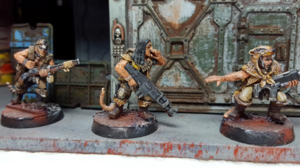 Rusty Painted Industrial Metal tutorial - Articles - DakkaDakka